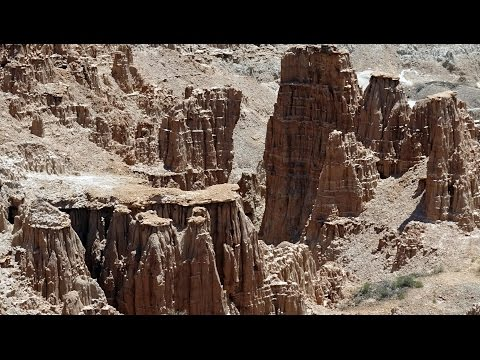 Loneliest Road in America #1: Cedar City, Utah- Panaca, Nevada - Cathedral Gorge, Nevada 2016-06-05