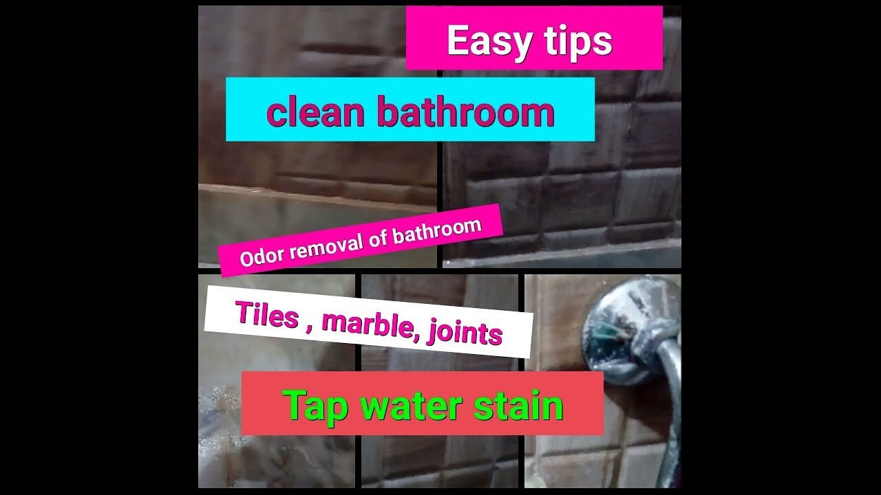 How To Clean Bathroom Tiles | How To Clean Bathroom | Bathroom Cleaning  Hacks | Try New Everyday ❤
