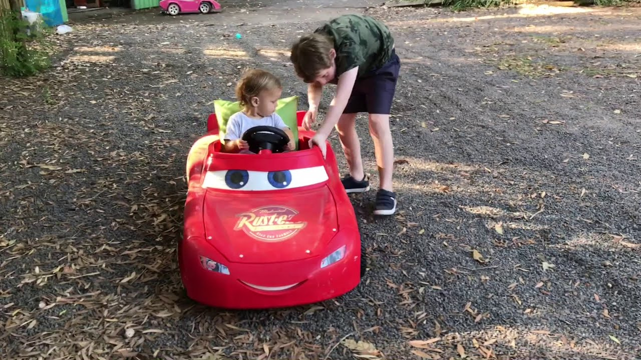 Alfie's first drive