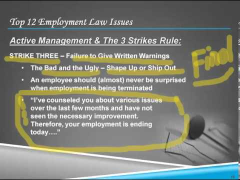 Top 12 Employment Law Issues for Dental Practices