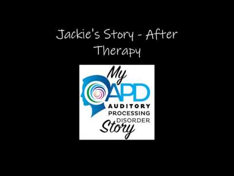 My APD Story Podcast:  Season 1, Episode 6:  Jackie's Story-  Part II of II After Therapy