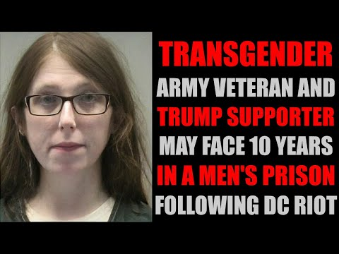 Trans Trump Supporter Mistreated, May Get 10 Years In A Men's Prison
