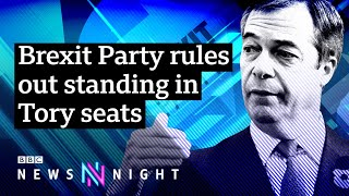 UK Election: Who will benefit from Brexit Party decision to withdraw from Tory seats?- BBC Newsnight