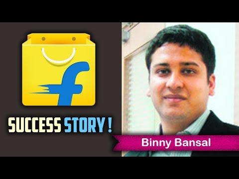 Flipkart Success Story in Hindi - Binny Bansal ki Success Story | Hindi Motivational Video