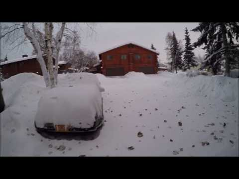 Winter Storm of 2016 Fairbanks Alaska