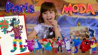 КОСТЮМЫ для ГЕРОЕВ мультфильмов! Детское творчество с детьми для детей поделки с детьми