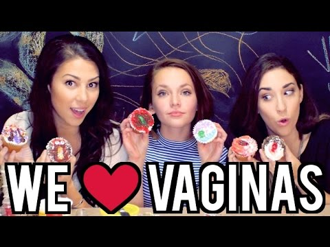 VAGINA CUPCAKES with Alexis G Zall and Stevie Boebi!