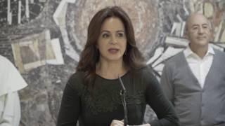 Inauguración de la exposición artística 'Bellezas Habitables' en las Cortes de Castilla y León