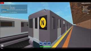 IND Subway: Coney Island bound R68A (N) train via (F) @ Avenue P