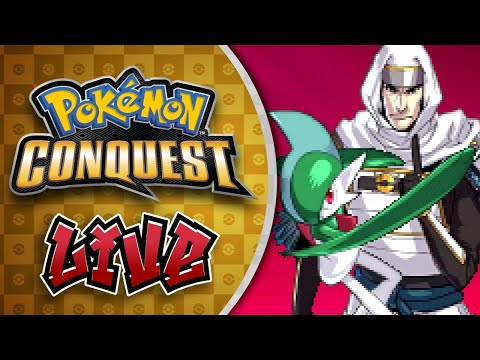 🔴 God I Hate Gallade So Much - Pokémon Conquest LIVE! - #3
