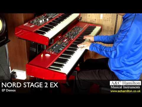 NORD Stage 2 EX EP Demos - A&C Hamilton