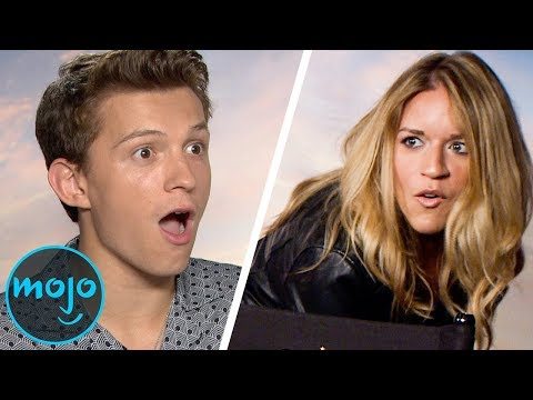 """Spider-Man: Far From Home"" Cast Reacts to Meeting WatchMojo -"