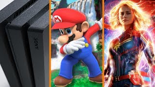 Over 91 Million PS4's Sold + Nintendo Joins the Humble Store + New Captain Marvel Trailer