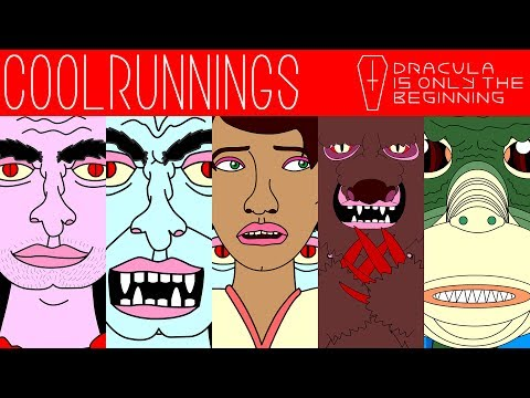 "COOLRUNNINGS ""Dracula Is Only The Beginning"" Animated Music Video"