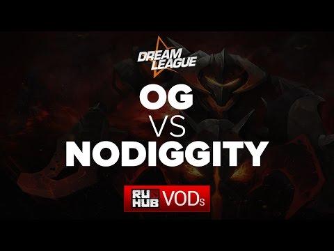 OG vs No Diggity, DreamLeague Season 5, Game 1