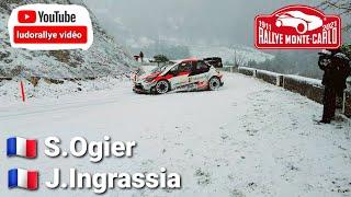 essais test rallye Monte-Carlo 2021 Seb Ogier toyota yaris WRC