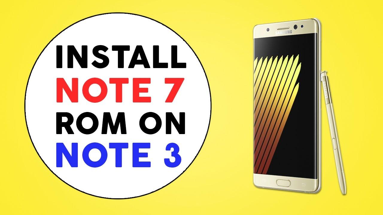 ROM][TW][Aroma][OTA]AryaMod Port S7Edge Por… | Samsung Galaxy Note 3