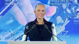 Download Sofia  First Robot as a Citizen of Saudi Arabia  Artificial Intelligence  Future Perspective Mp3 and Videos