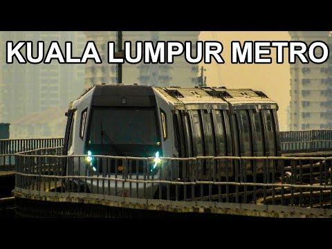 🇲🇾 Kuala Lumpur Metro - All The Lines - Rapid Transit in Malaysia (MRT/LRT)