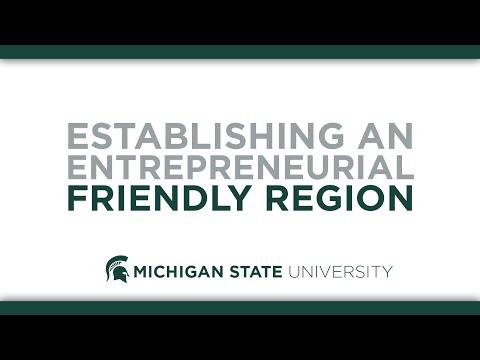 Establishing an Entrepreneurial Friendly Region