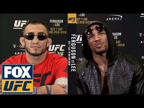 Tony Ferguson and Kevin Lee get heated ahead of UFC 216 | UFC TONIGHT