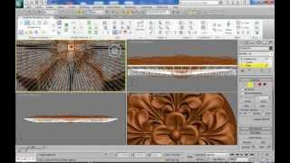 3DsMax Уроки на русском 6 (создание розетки-без зв.)