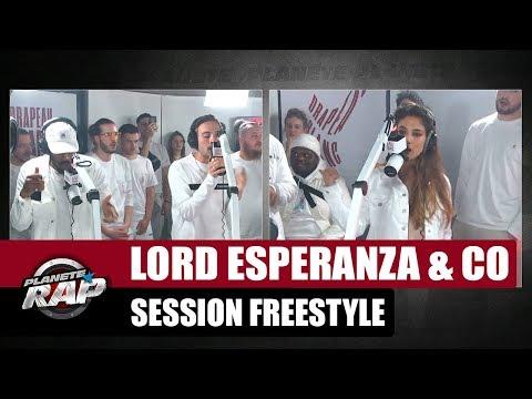 Lord Esperanza & Co - Session freestyle #1 #PlanèteRap