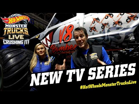 Hot Wheels Monster Trucks Live Crushing It Comes To Tv