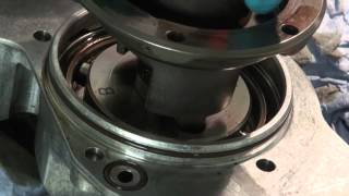 BMW E36 S50B32 Noise of Vanos oil pump hub tabs hitting disk