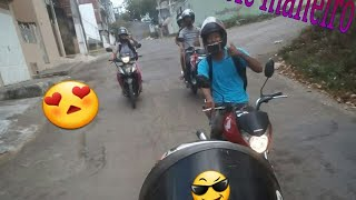 testando Nova moto na pista #rolê