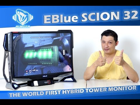 #49 EBLUE SCION 32 - The World First hybrid tower monitor