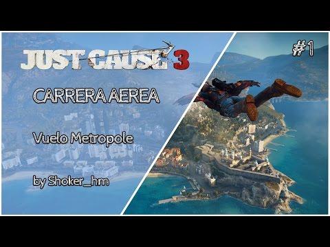 Just Cause 3 Desafios - Carrera Aerea - Vuelo Metropole - 5 piezas