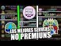 TOP | 3 MEJORES SERVER NO PREMIUN SIN LAG OMG!!!😅😱 [MineMora,MineAqua,UniversoCraft]