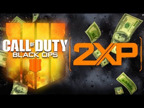 Black Ops 4: Buying 40 Hours of Double XP (How Much does it Cost?)