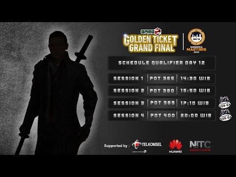 download GAMEZ GOLDEN TICKET SQUAD | QUALIFIER DAY 12