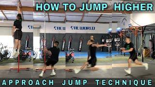 Approach Jump Technique | How To Jump Higher