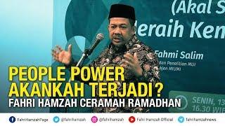 People Power Akankah Terjadi ~ Fahri Hamzah Ceramah Ramadhan
