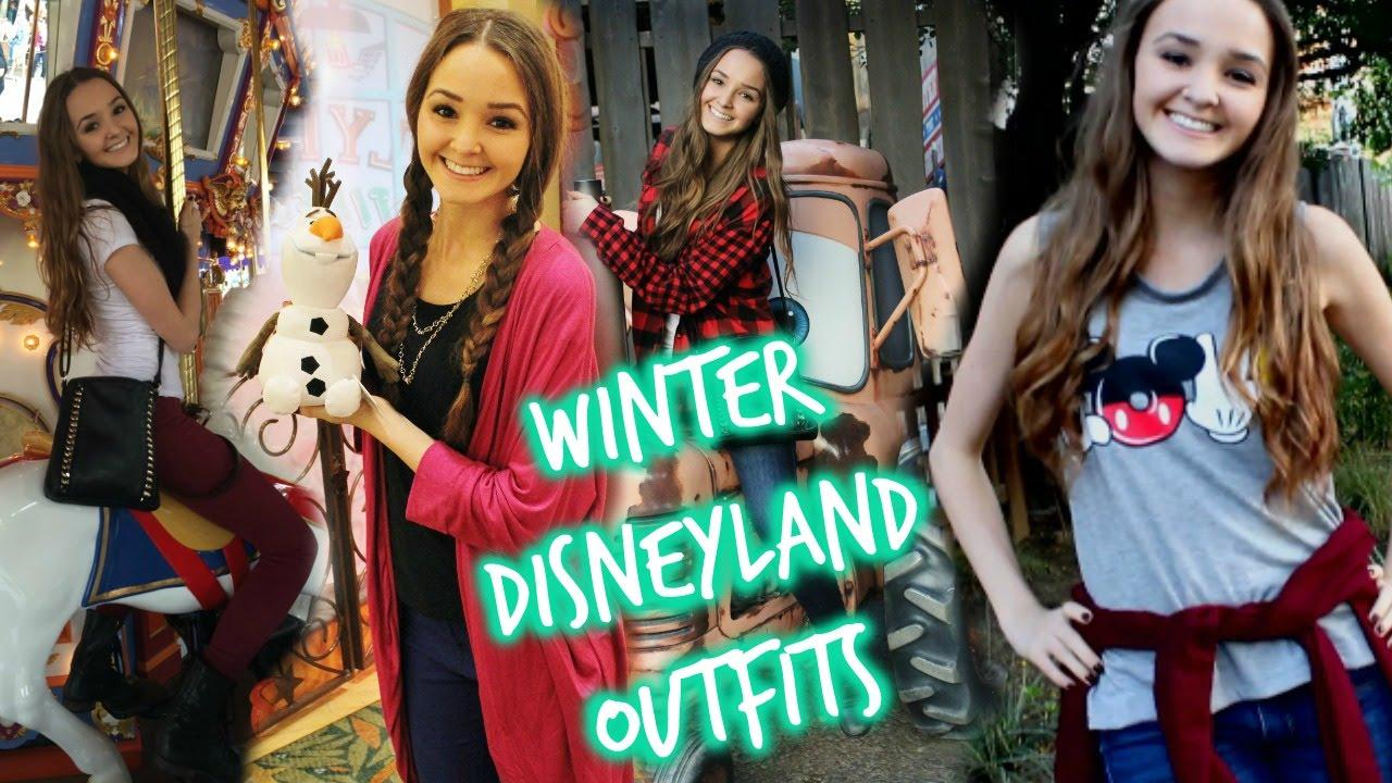 sc 1 st  YouTube & Winter Disneyland Outfits? OOTW | thekelliworldtv - YouTube