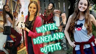 Winter Disneyland Outfits❤ OOTW | thekelliworldtv Thumbnail