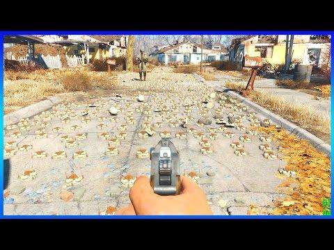 Fallout 4 - 5,000 NUKE EXPLOSION (OUTSIDE)