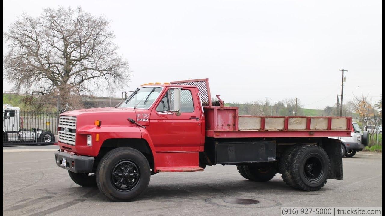 1993 Ford F700 dump truck | Item H6561 | SOLD! September 10 ...