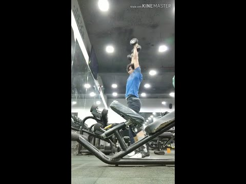 DB Hang Clean & Press