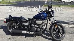 2016 Yamaha Star Bolt Motorcycle Review