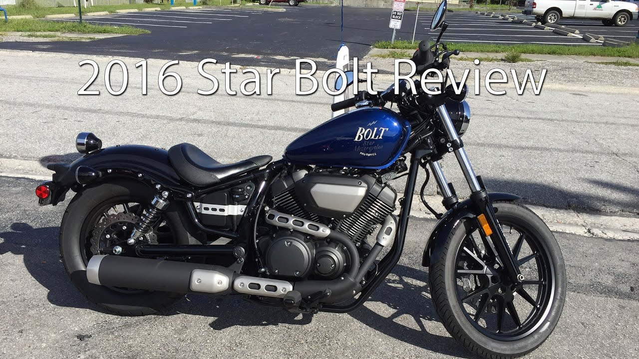2016 Yamaha Star Bolt Motorcycle Review Youtube