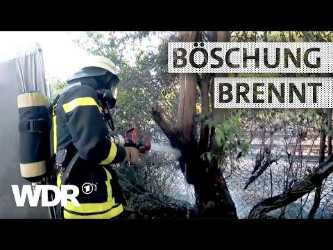 Feuer & Flamme | Böschungsbrand an der Bahnstrecke | WDR