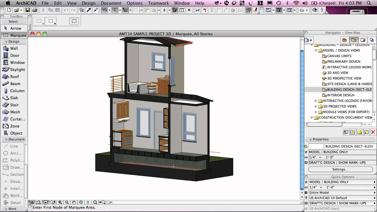 ArchiCAD Tutorial | Project Map vs  View Map