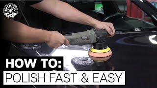 How To Correctly PoĮish Any Color Paint Fast & Easy! - Chemical Guys