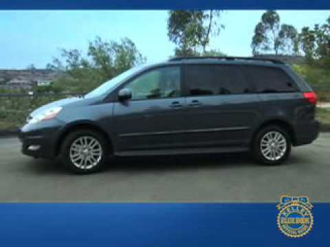 2006 toyota sienna review kelley blue book. Black Bedroom Furniture Sets. Home Design Ideas