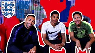 Rashford & Wilson LIVE with Craig Mitch! | Lions' Den | England 3-0 USA