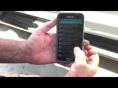 Setting up Torque pro on an Android phone with ford enhanced. Powerstroke